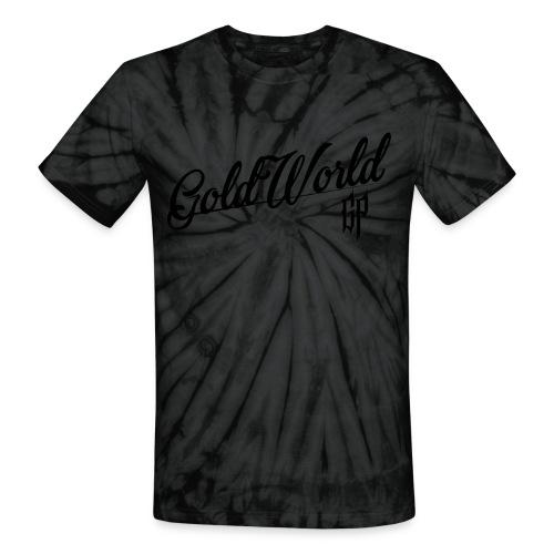 Gold World - TieDye T-shirt - Unisex Tie Dye T-Shirt