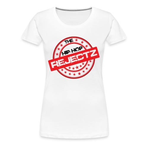 OFFICIAL HIP-HOP REJECT  FEMALE TEE - Women's Premium T-Shirt
