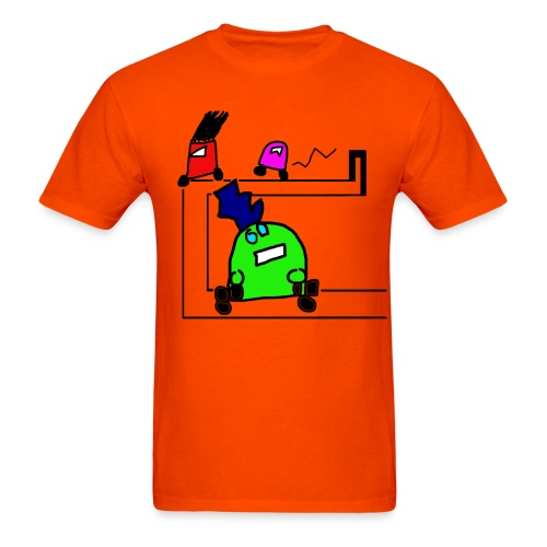 Robot Autocross - Men's T-Shirt