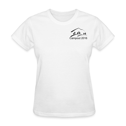 Team Ang Group Campout 2016 - Women's T-Shirt