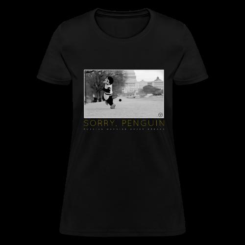 Sorry Penguin Women's T-Shirt - Women's T-Shirt