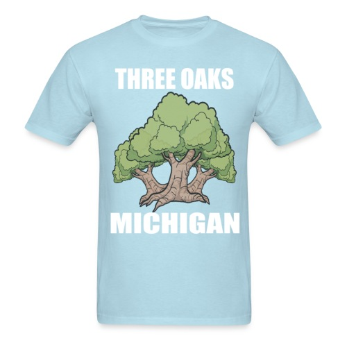 Three Oaks MI T-Shirt - Men's T-Shirt