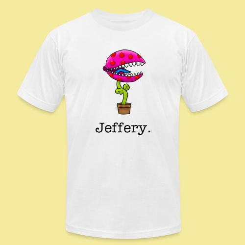 Jeffery. - Men's  Jersey T-Shirt