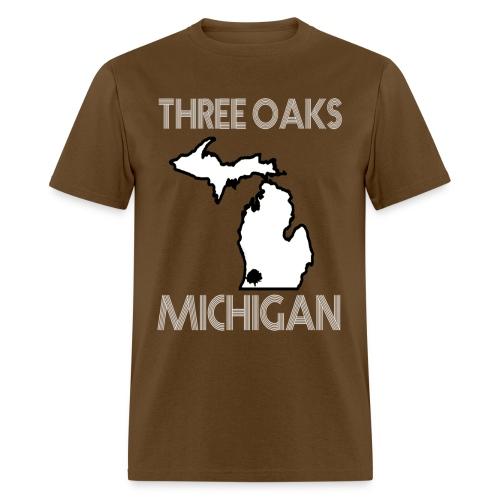 Three Oaks MI T-Shirt - Men's T-Shirt