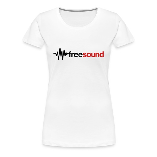 freesound_logo_tshirt - Women's Premium T-Shirt