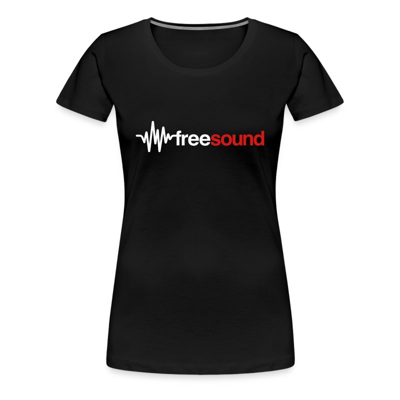 freesound_logo_tshirt - Women's Premium T-Shirt