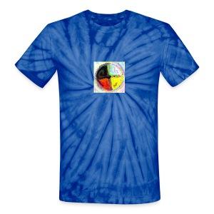 Shirt Medicin Wheel - Unisex Tie Dye T-Shirt