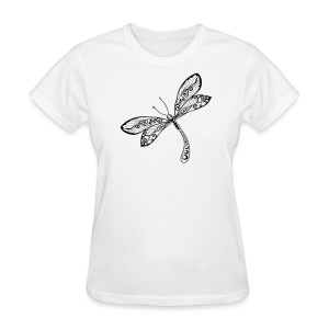 BB Monde Tribal Dragonfly from South Seas - Women's T-Shirt