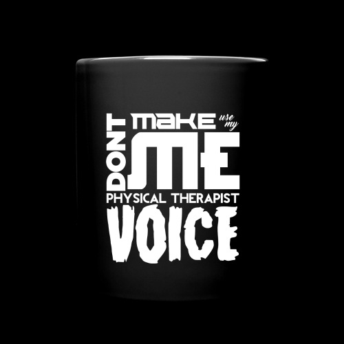 PT Voice Coffee Mug - Black - Full Color Mug