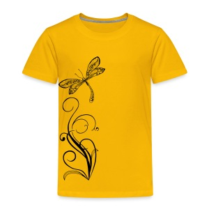 BB Monde Tribal Dragonfly from South Seas - Toddler Premium T-Shirt