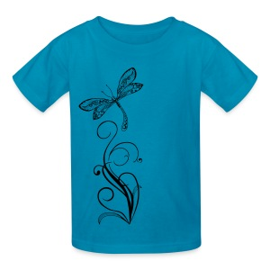 BB Monde Tribal Dragonfly - Kids' T-Shirt