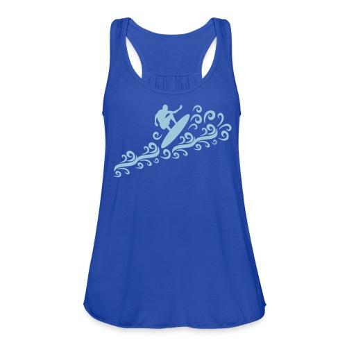 summer sport Women's Flowy Tank Top by Bella - Women's Flowy Tank Top by Bella