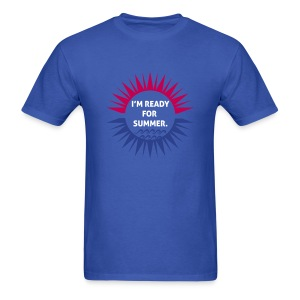 I'm ready for summer Men's T-Shirt - Men's T-Shirt