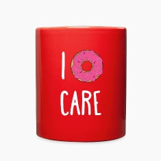I Donut Care Funny Unique Gift T-shirt Mugs & Drinkware