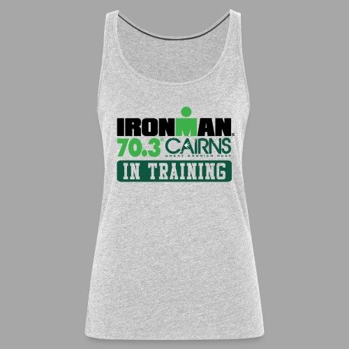 70.3 Cairns In Training Women's Tank Top - Women's Premium Tank Top
