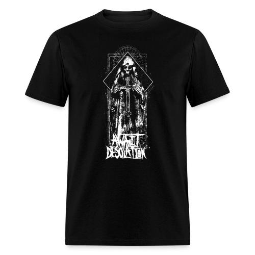 Mens Skeleton Cross T-Shirt - Men's T-Shirt