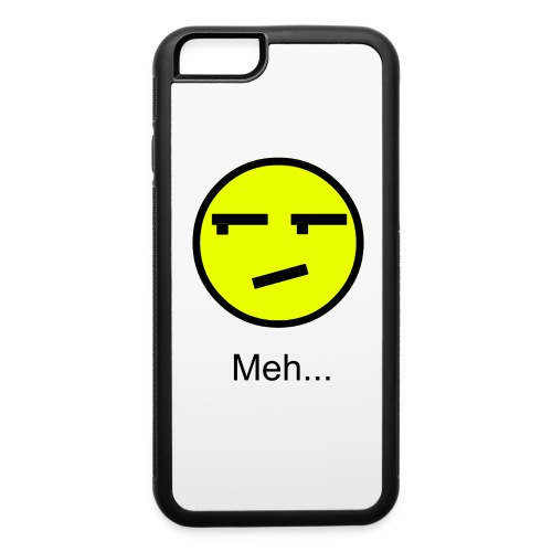 Meh phone case - iPhone 6/6s Rubber Case
