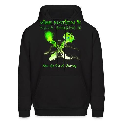 VibeNationX Hoodie (Men) | Jade Green Version  - Men's Hoodie