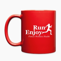 Run and enjoy Mugs & Drinkware