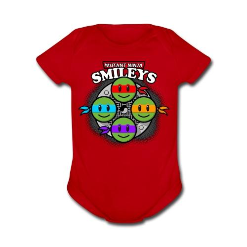 Ninja Turtles Onesie - Organic Short Sleeve Baby Bodysuit