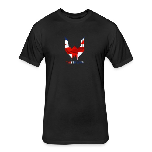 War UK T-shirt - Fitted Cotton/Poly T-Shirt by Next Level