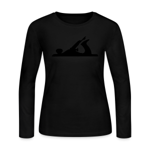 Handplane Long Sleeve T-Shirt - Womens - Women's Long Sleeve Jersey T-Shirt
