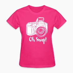 Camera Oh Snap Women's T-Shirts