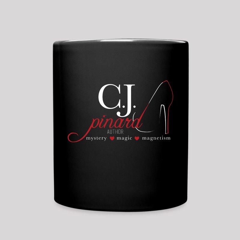 Black Ceramic Mug C.J. PINARD LOGO - Full Color Mug