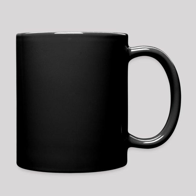 Black Ceramic Mug I HAVE A BOOK HANGOVER