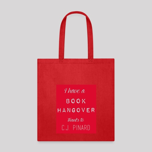 Tote Bag I HAVE A BOOK HANGOVER Red/Red - Tote Bag