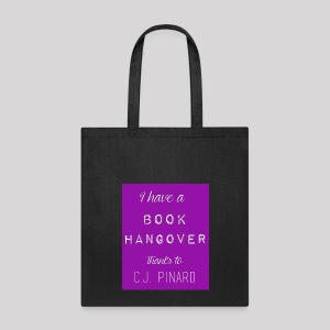 Tote Bag I HAVE A BOOK HANGOVER Purple/Purple - Tote Bag