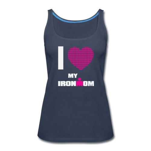 I Heart My Ironmom Women's  Premium Tank Top - Women's Premium Tank Top