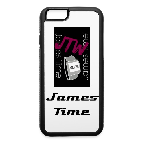 James Time Iphone case 6/6s - iPhone 6/6s Rubber Case