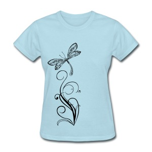 BB Monde Tribal Dragonfly - Women's T-Shirt