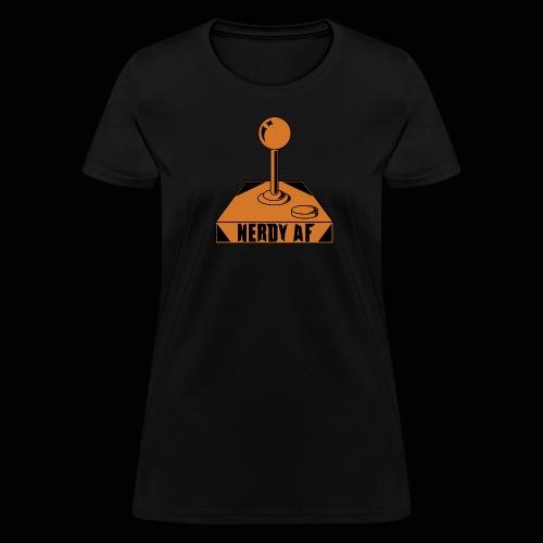 Nerdy AF Joystick Women's - Women's T-Shirt