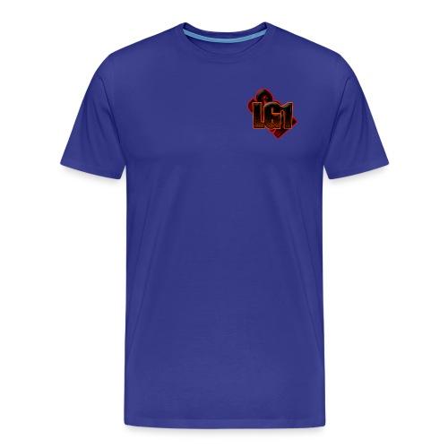 Logo Tee - Blue - Men's Premium T-Shirt