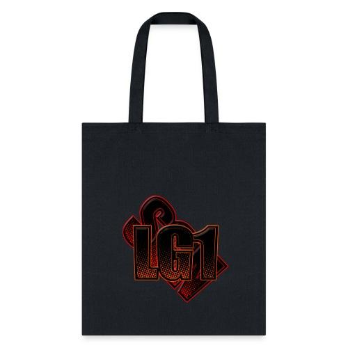 Tote Bag w/ Logo - Black - Tote Bag
