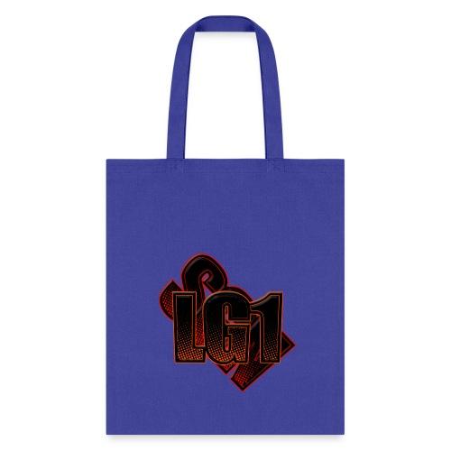 Tote Bag w/ Logo - Blue - Tote Bag