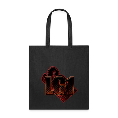 Tote Bag w/ Logo - Purple - Tote Bag