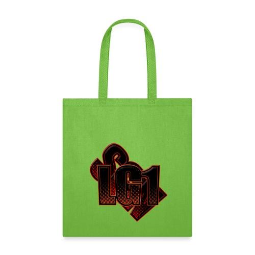 Tote Bag w/ Logo - Yellow - Tote Bag