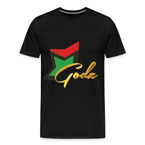 Santa Flora Godz T Shirt (BLACK) - Men's Premium T-Shirt