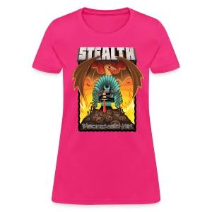The Ninja Thrown - Women's T-Shirt