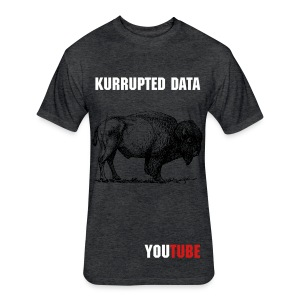 Kurrupted Data T Original - Fitted Cotton/Poly T-Shirt by Next Level