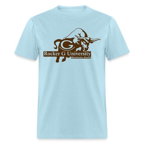 Rocker G University Bull Men's T-shirt - Men's T-Shirt