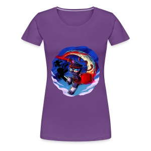Crescent Moon - Women's Premium T-Shirt