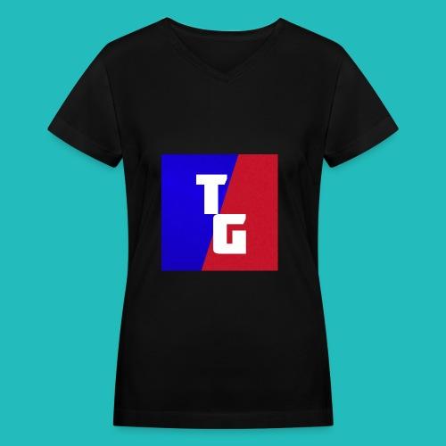 TG women's shirt - Women's V-Neck T-Shirt