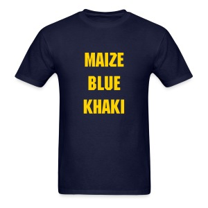 State of Maize and Blue - Men's T-Shirt
