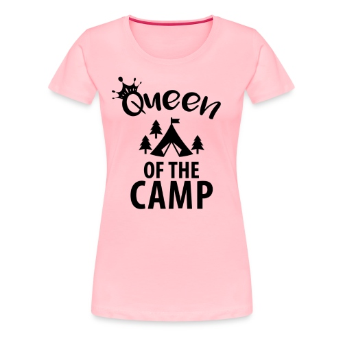 Queen of the Camp Glamping Tee - Women's Premium T-Shirt