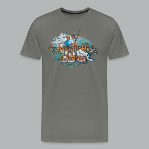 Stubborn (premium) (front only)  - Men's Premium T-Shirt
