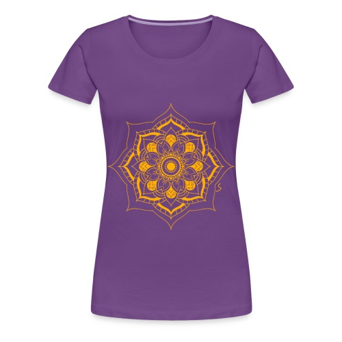 Mandala lotus flower - Women's Premium T-Shirt
